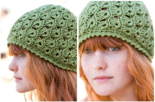 Broomstick Lace Hat