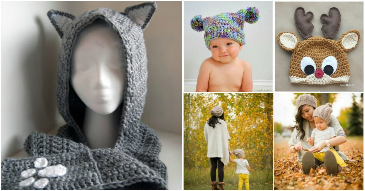 02b1d81ac 20 Gorgeous Crochet Hats to keep You Feeling Warm and Looking Good ...