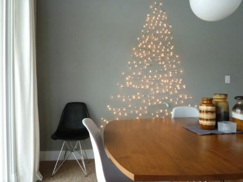 String Lights Tree