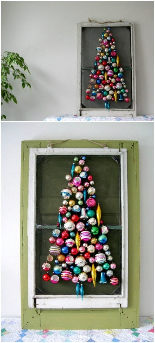 Screen Door Ornament Tree