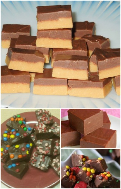 Easy 4 Ingredient Fudge