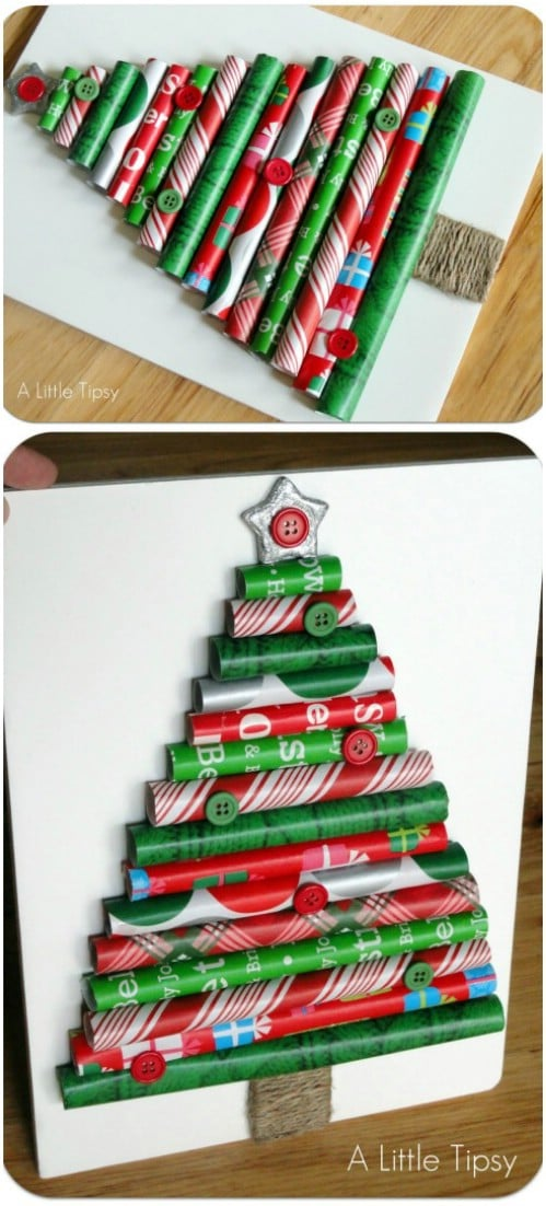 Wrapping Paper Tree