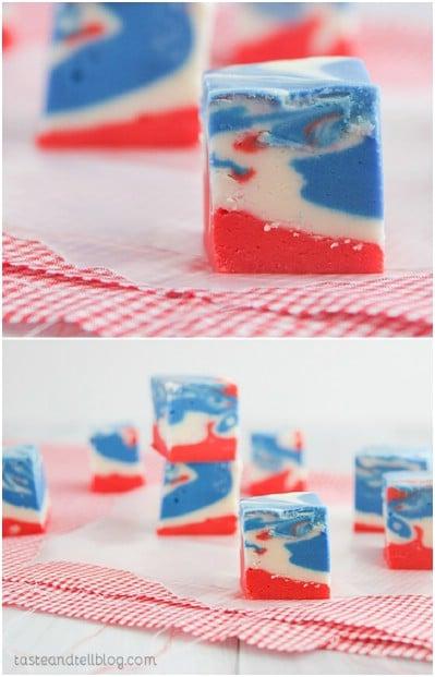 Tie Dyed Fudge