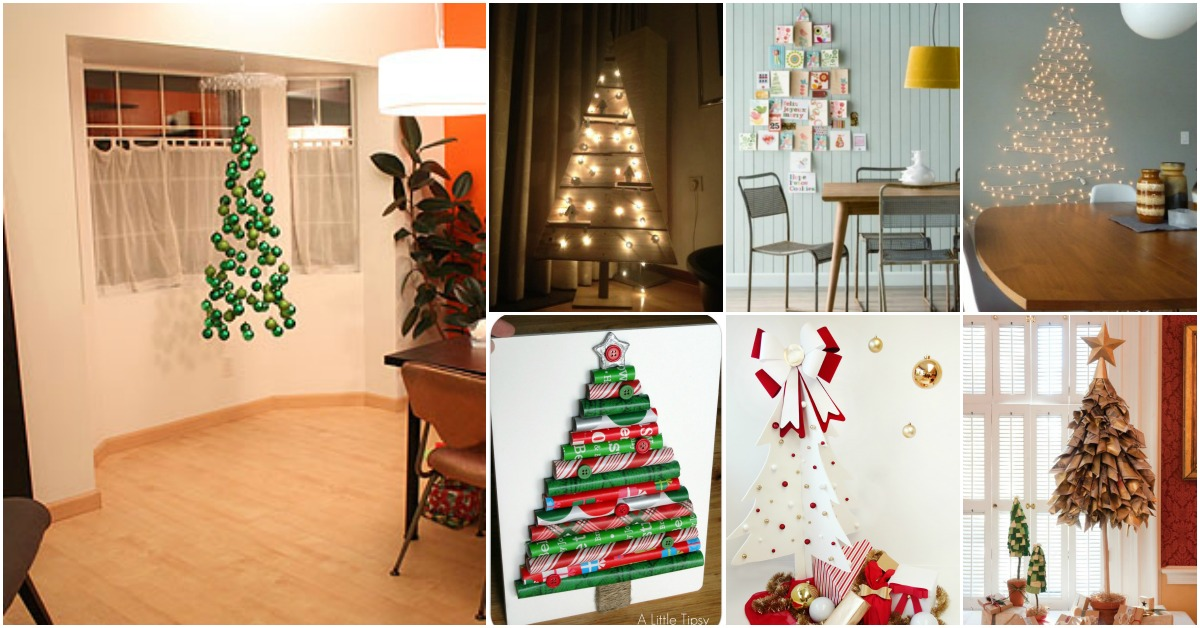 15 Gorgeously Creative Christmas Trees That Aren T Actually Trees Diy Crafts