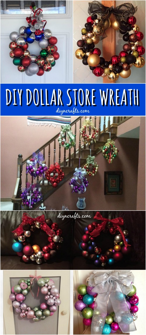 How to Create This Stunning Wreath Easily from Dollar Store ...