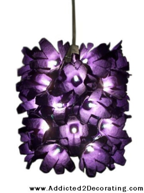 Hanging Flower Lamp