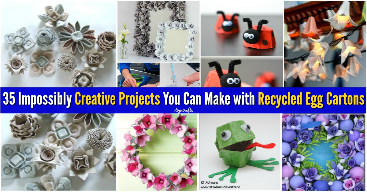 35 Impossibly Creative Projects You Can Make With Recycled