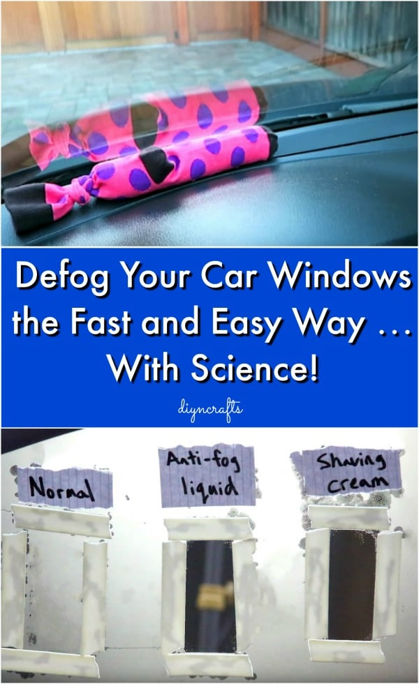 Defog Your Car Windows the Fast and Easy Way … With Science!