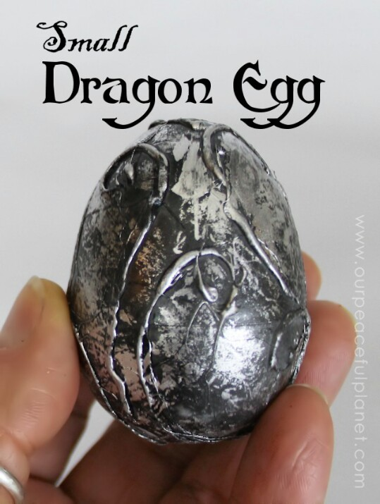 "26. Turn an Ordinary Plastic Egg Into a Super Cool ""Dragon Egg"""