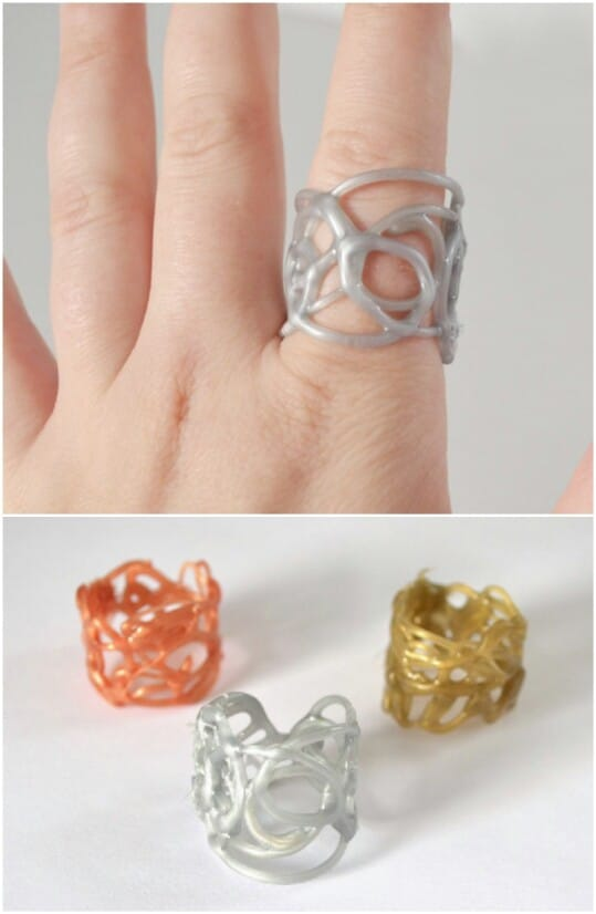 Hot Glue Rings Will Impress And Delight