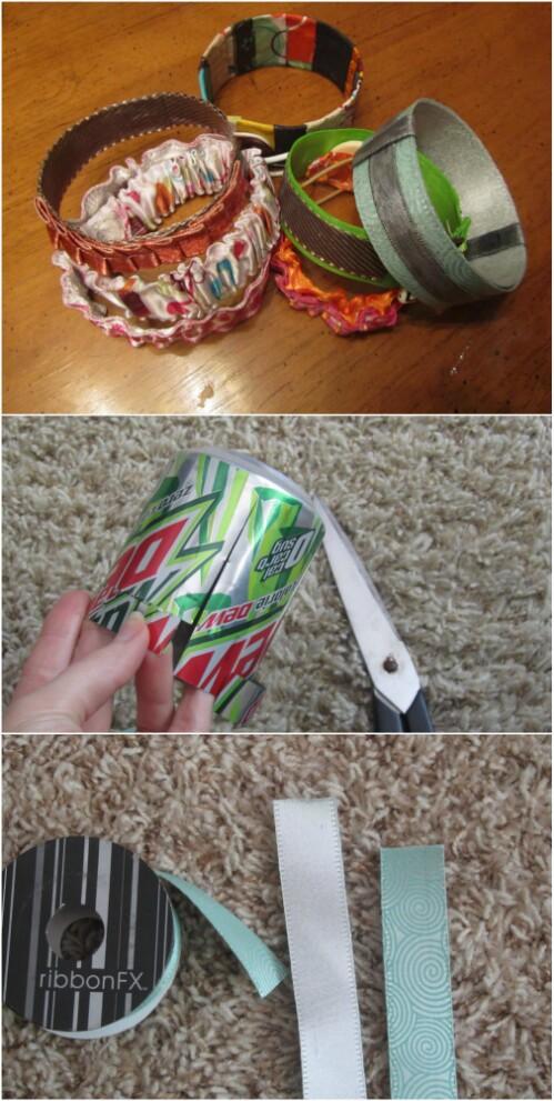 Soda Can Bracelets