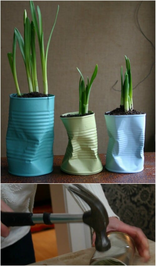 50 Jaw-Dropping Ideas for Upcycling Tin Cans Into Beautiful