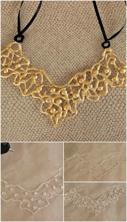 38. Make a Quirky Gold Necklace