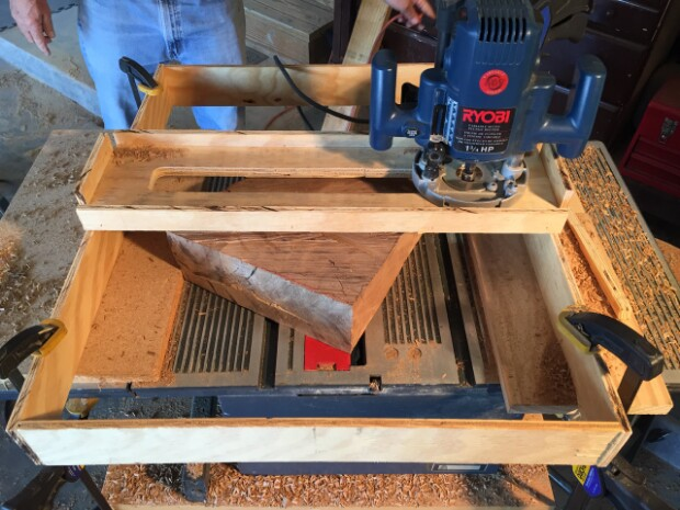 See Step-By-Step Instructions for How to Build Your Own Oak Tree Bookshelf.