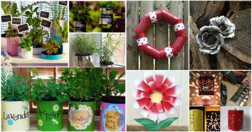 50 Jaw Dropping Ideas For Upcycling Tin Cans Into Beautiful