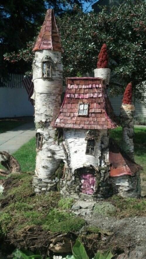 Birch Fairy Castle