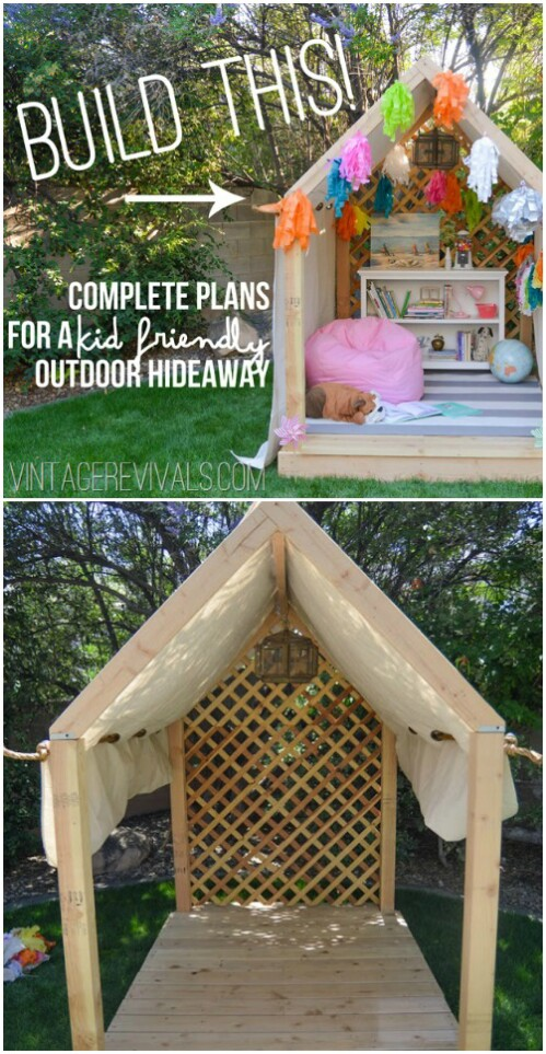 Build an Outdoor Nook