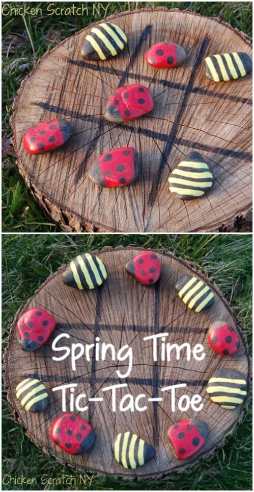 Ladybug Tic-Tac-Toe