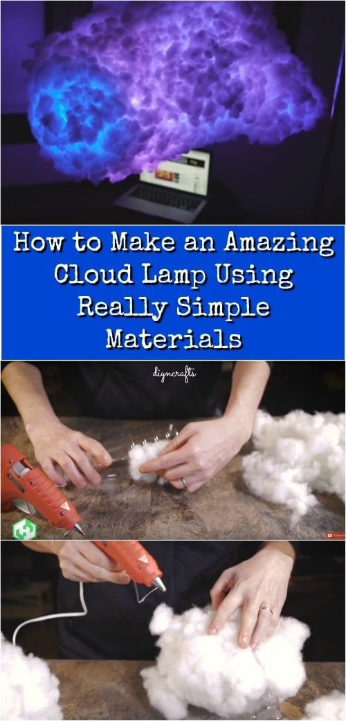 How to Make an Amazing Cloud Lamp Using Really Simple Materials {Video}