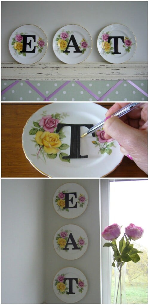 Letter Dishes