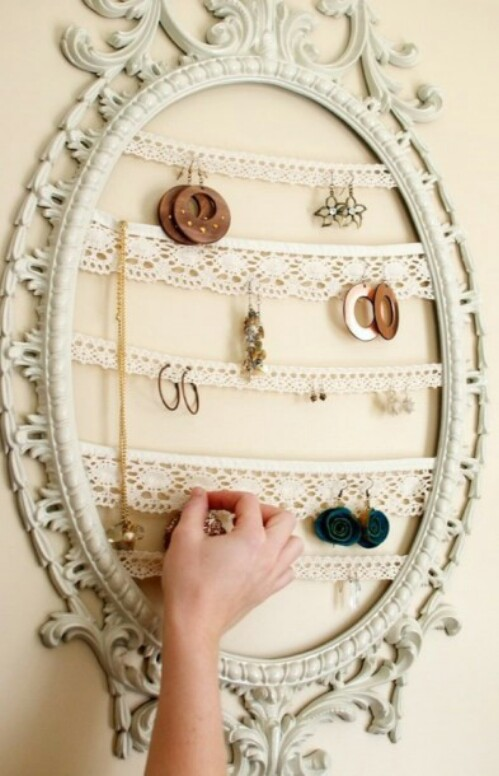 Antique Jewelry Holder