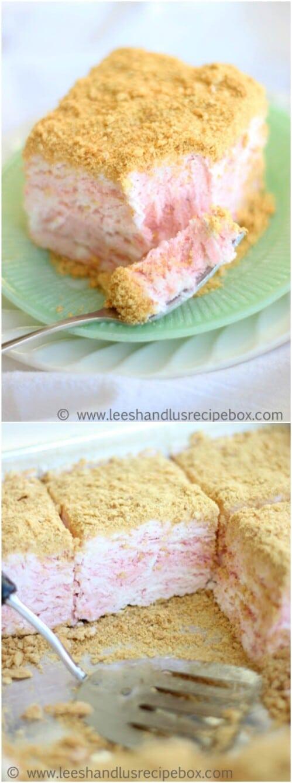 Strawberries & Cream Mile-High Pie