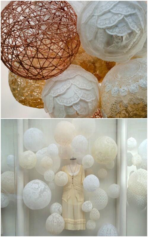 Charming Lace Balls