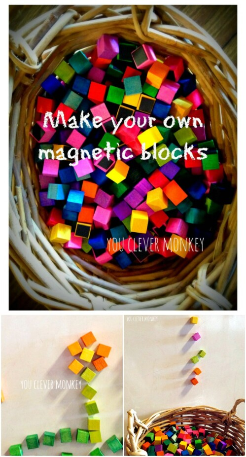 Magnetic Legos