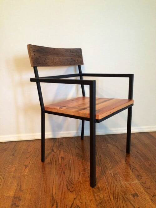Simple Rustic/Industry Dining Chair