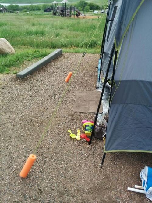 27. Tent Line Protectors