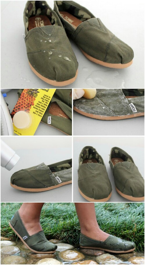 29. Waterproof Your Shoes