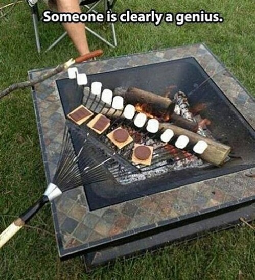 32. Easy S'mores