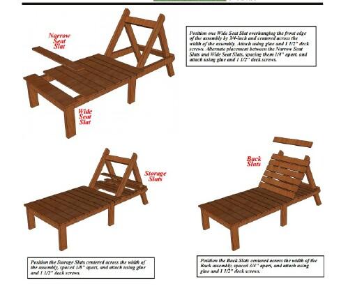 Remarkable 5 Elegant Sunbathing Loungers You Can Diy Free Plans Diy Uwap Interior Chair Design Uwaporg
