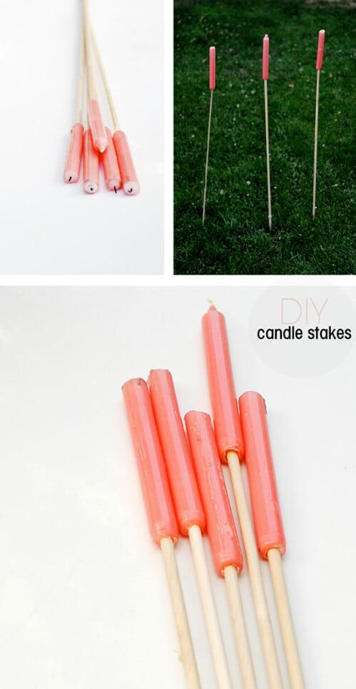 42. Candle Stakes