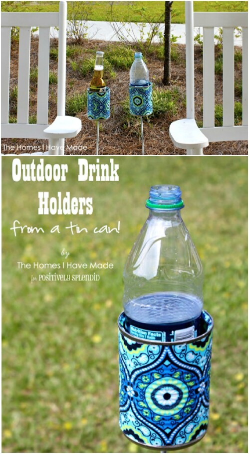 53. Outdoor Drink Holder