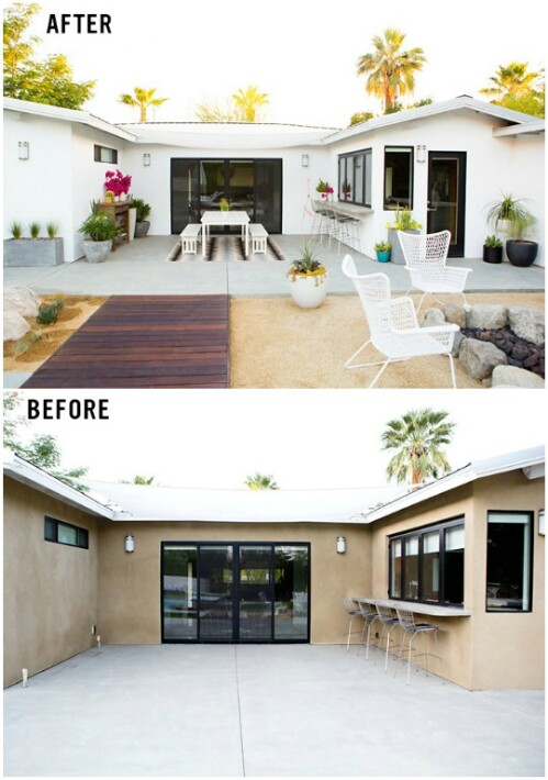Desert Patio Makeover