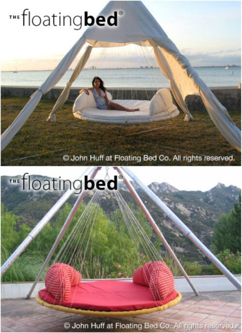 5. The Floating Bed