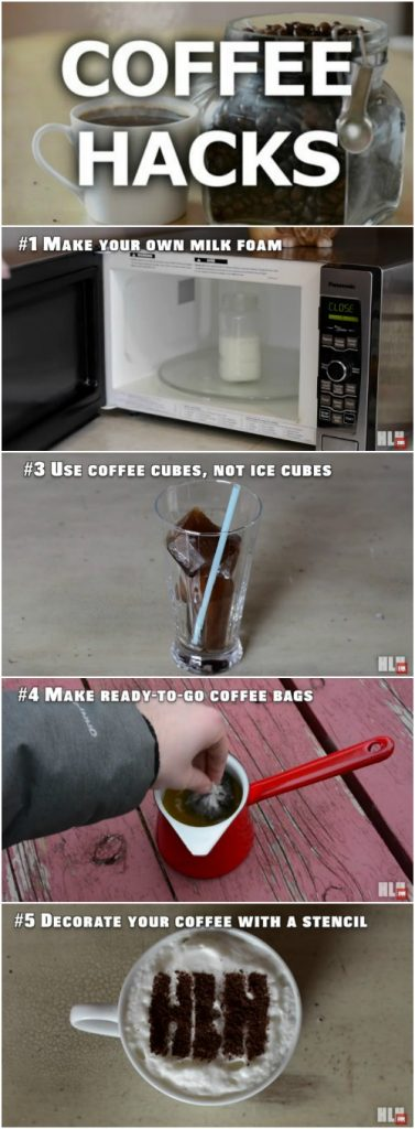 Start the Morning out Right with These 5 Genius Coffee Hacks {Video Instructions}