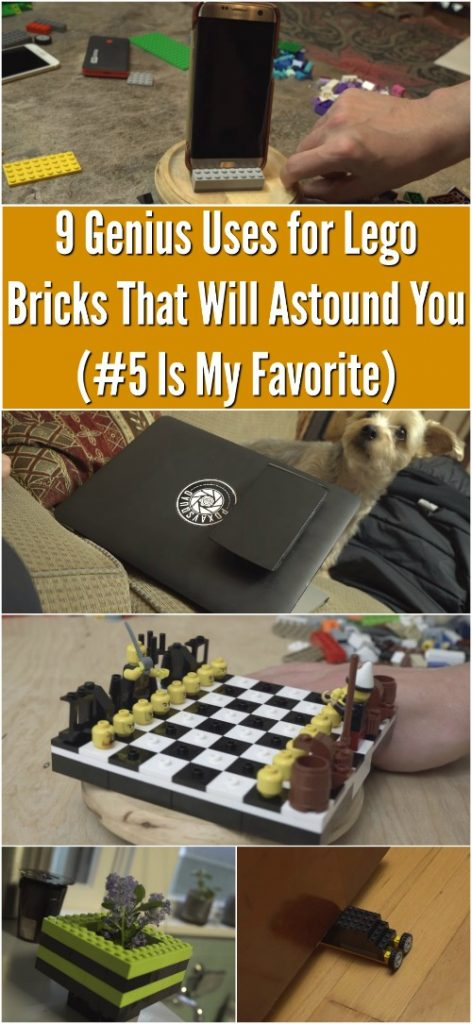 9 Genius Uses for Lego Bricks That Will Astound You (#5 Is My Favorite)