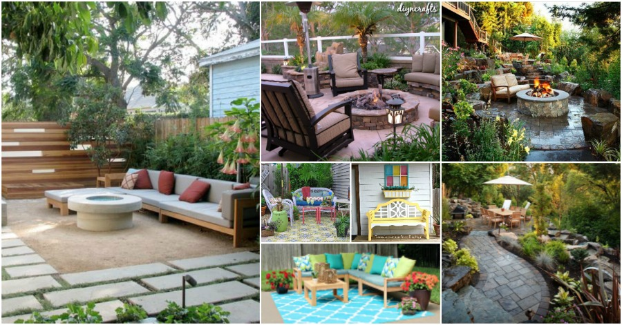 30 Amazing Patio Makeover Ideas That Will Beautify Any Home Diy Crafts