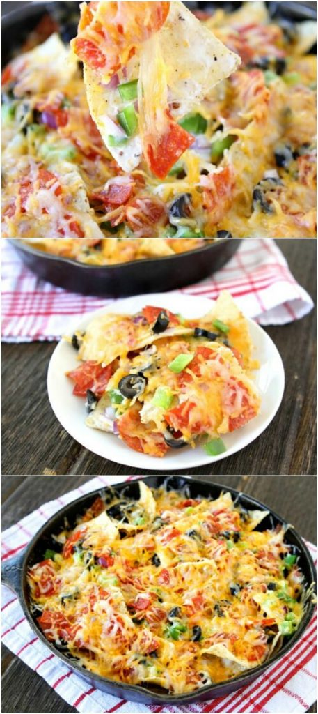 5. Pizza Nachos