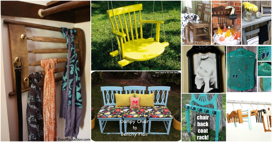 Astounding 20 Brilliantly Creative Ways To Repurpose Old Chairs Diy Evergreenethics Interior Chair Design Evergreenethicsorg