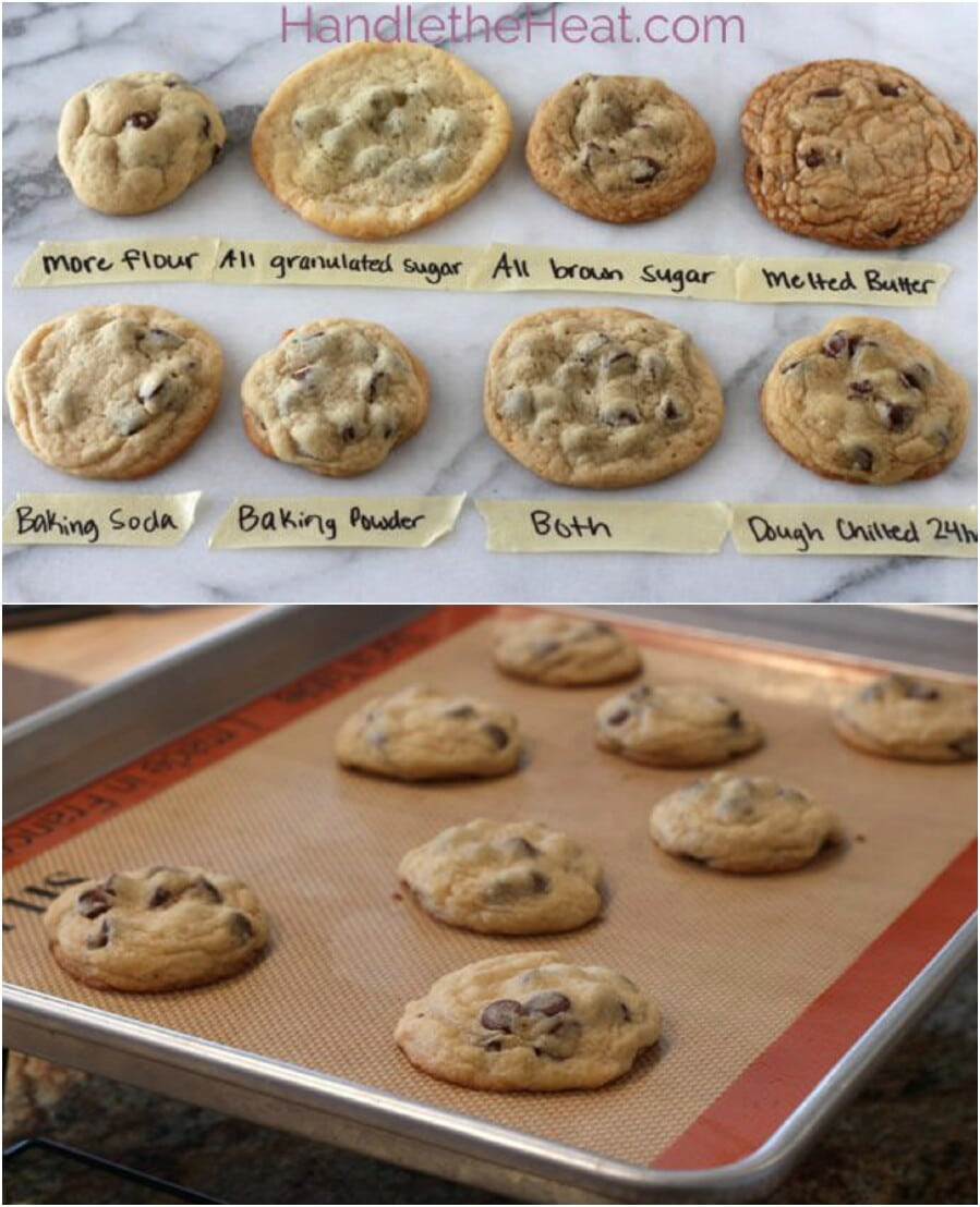 1. Make the ideal chocolate chip cookie.