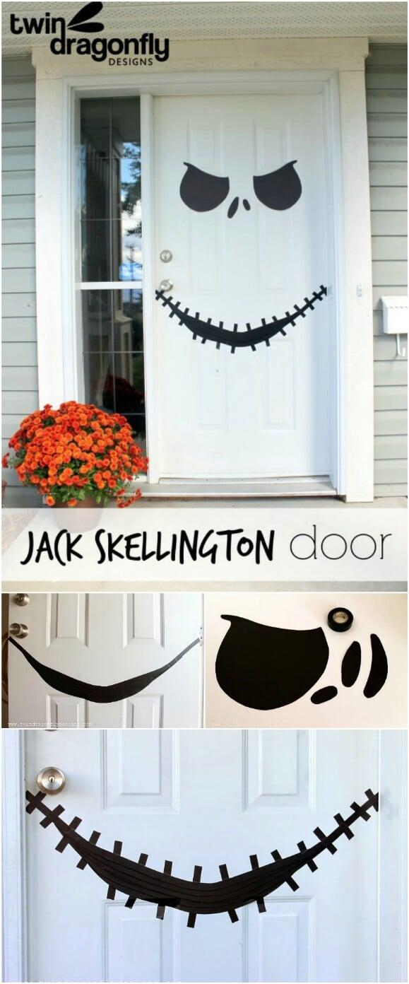 1. Jack Skellington Door