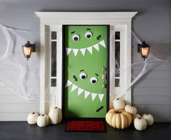 11. Cute Green Monsters