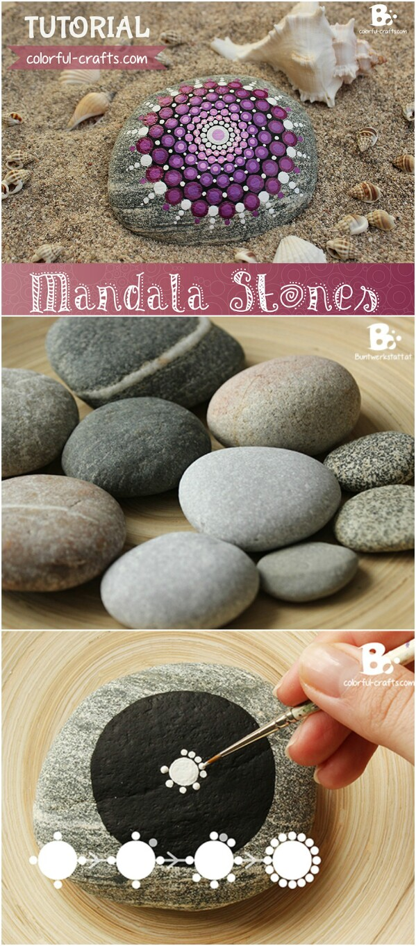 14. Mandala Stones