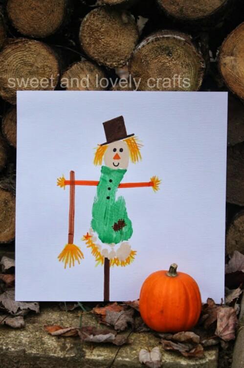 Footprint Scarecrow
