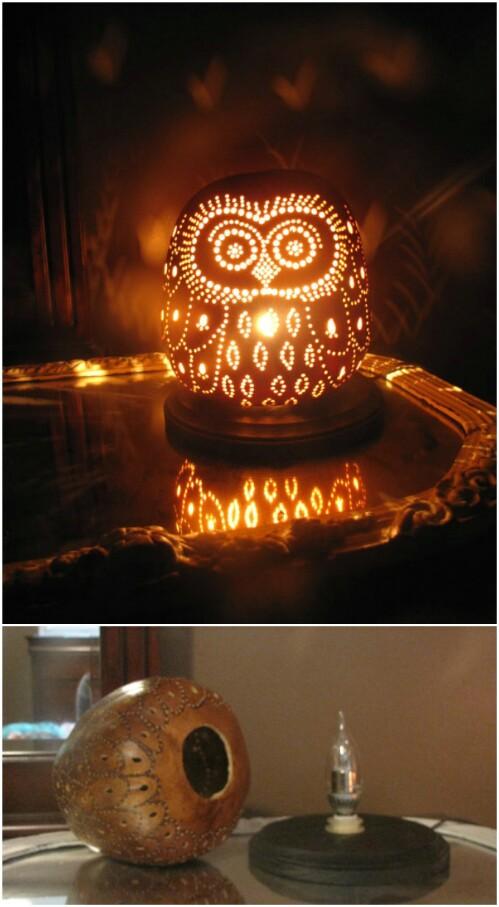 18. Owl Gourd