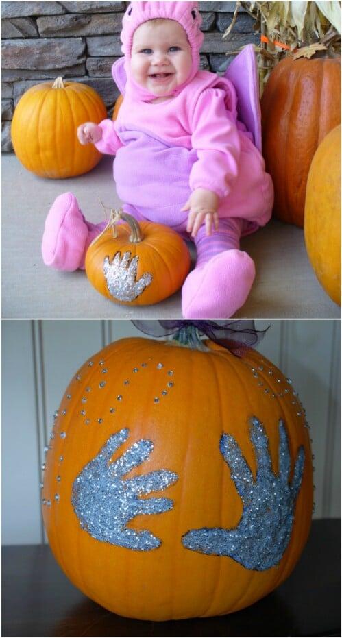 Pumpkin Handprints