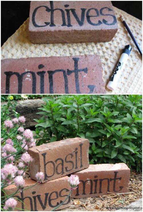 20. Make Garden Markers